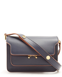 Marni Trunk Mini Leather Cross Body Bag