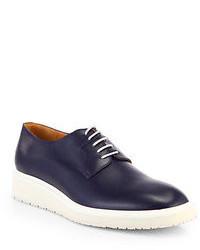 Maison Martin Margiela Leather Lace Up Derby Shoes