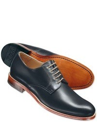 Charles Tyrwhitt Navy Culford 5 Eyelet Derby Shoes