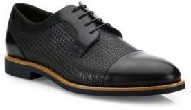 024bb8ef22d Hugo Boss Ocean Leather Derby Shoes, $425 | Saks Fifth Avenue ...
