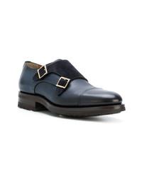 Santoni D Monk Shoes