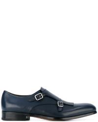 Salvatore Ferragamo Fringed Monk Strap Shoes