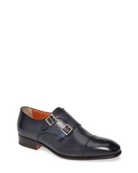 Santoni Innocent Double Monk Shoe