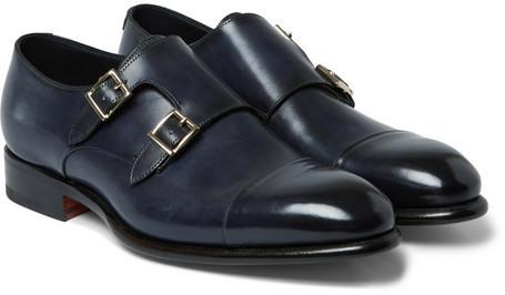 Santoni Chaussures Sangle Moine pcLe4s