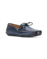 Santoni Classic Lace Up Loafers