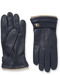 Dents Gloucester Cashmere Lined Full Grain Leather Gloves