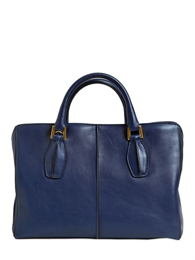 Handbags Tod S D Cube Small Soft Leather Tote