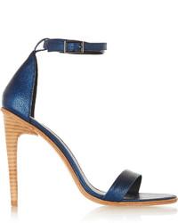 Tibi Amber Leather Sandals