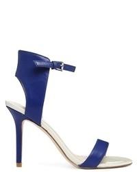 Aldo Blue Ankle Strap Heeled Sandals Bluette