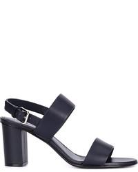 Jil Sander Chunky Heel Sandals