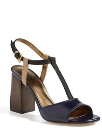 Lanvin Colorblock Square Heel Sandal