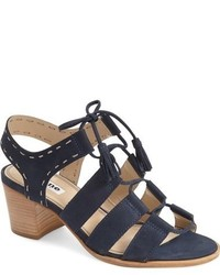 Dune London Ivanna Lace Up Block Heel Sandal