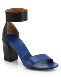 Chloé Gala Leather Ankle Strap Sandals