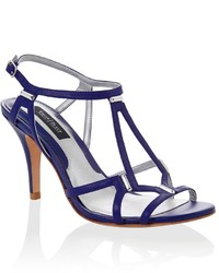 White House Black Market Indigo Strappy Heel | Where to buy &amp how