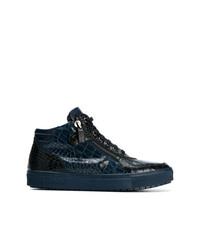 Baldinini Croc Effect Sneakers