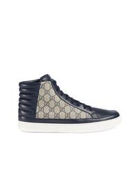 442604cf5 Gucci Men's Navy Sneakers from farfetch.com   Men's Fashion ...
