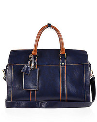 River Island Navy Holdall Bag