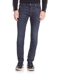 Diesel Tepphar Coated Tapered Fit Jeans