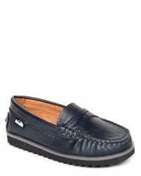 Venettini Kids Leather Penny Loafers
