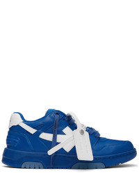 Off-White Blue White Out Of Office Sneakers