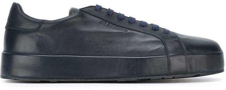 Jil Sander Classic Low Top Sneakers