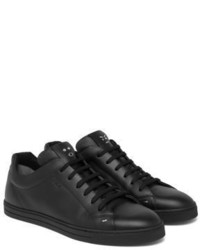 buy cheap lowest price Fendi Leather Low-Top Sneakers Manchester clearance shop offer wiki cheap price free shipping cheap online fYwlDcoLz