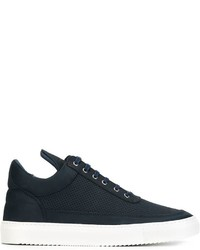 Filling Pieces Low Top Tone Perforated Sneakers