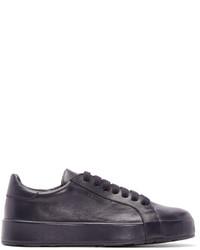 Jil Sander Navy Low Top Sneakers
