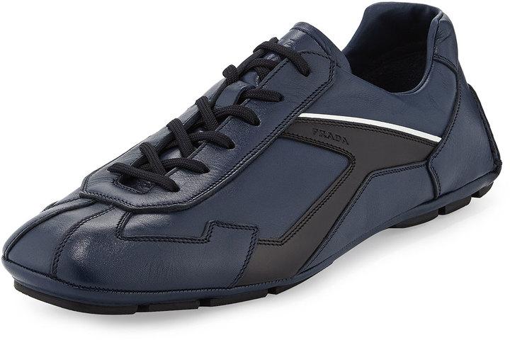 Prada Monte Carlo Leather Sneaker