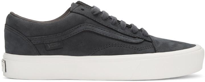7eaf8c60541f ... Vans Navy Nubuck Old Skool Lite Lx Sneakers ...