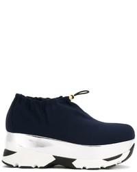 Marni Platform Low Top Sneakers