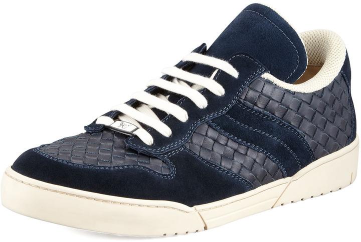 Sneakers navy Bottega Veneta EAb8N7