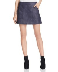 Leather mini skirt medium 3667258