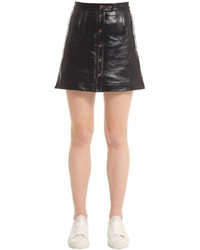 Patent leather mini skirt gigi hadid medium 3706261