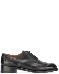 Bally Brogue Detail Oxford Shoes