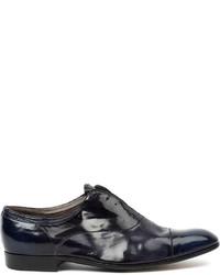 Premiata Laceless Oxford Shoes