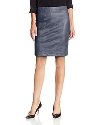 Faux leather pencil skirt medium 116996