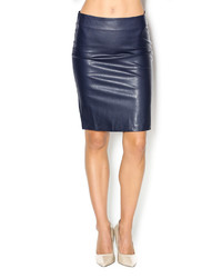 Karen Kane Faux Leather Skirt | Where to buy & how to wear
