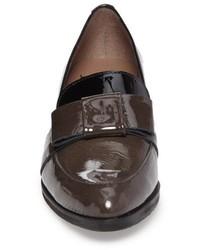 Wonders Block Heel Loafer Pump
