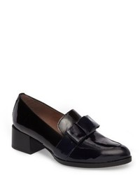 Wonders Block Heel Loafer Pump