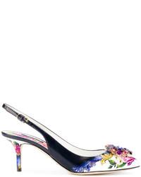 Dolce & Gabbana Hill Slingback Pumps