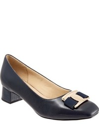 Trotters Louise Block Heel Pump