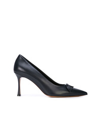 The Row Pointed Bow Pumps