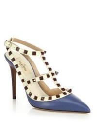 Valentino Rockstud Ankle Strap Pumps