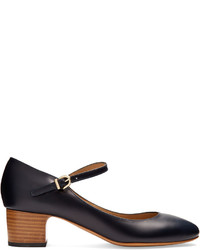 A.P.C. Victoria Mary Jane Leather Pumps