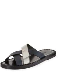 5e70bc85ea80 Bottega Veneta Huarache Woven Calfskin Sandal Navy Out of stock · Jimmy  Choo Cross Strap Sandal Navy