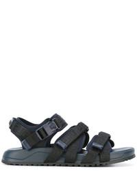 Versace Greca Strap Sandals