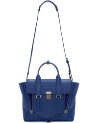 3.1 Phillip Lim Blue Medium Pashli Satchel