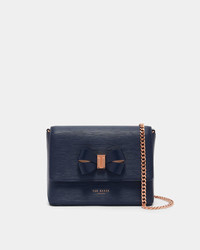 Ted Baker Bow Detail Leather Cross Body Bag