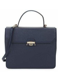 Furla Chiara Leather Top Handel Bag